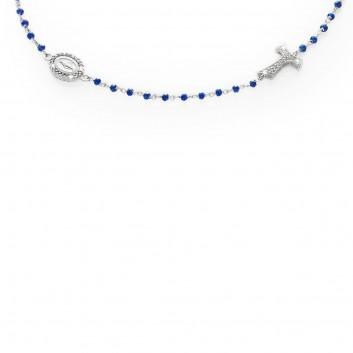 selezione migliore a115f 28d17 Collana rosario in oro bianco 18 kt