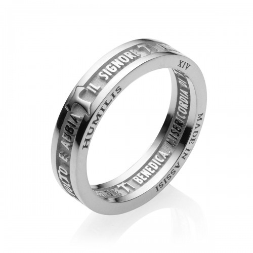 Humilis sterling silver classic ring
