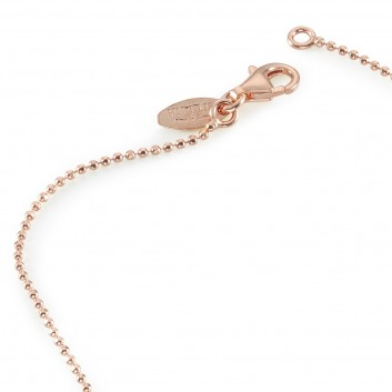 Humilis rose gold plated sterling silver brilliant chain