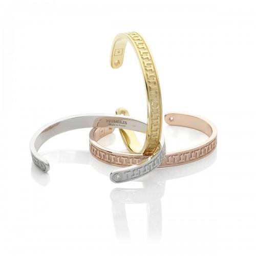 Humilis bracciale classico in oro